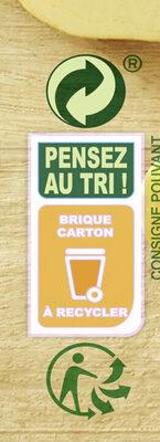 Knorr Les Classiques Soupe Liquide Douceur d'Automne à la crème fraîche 1l - Recycling instructions and/or packaging information - fr