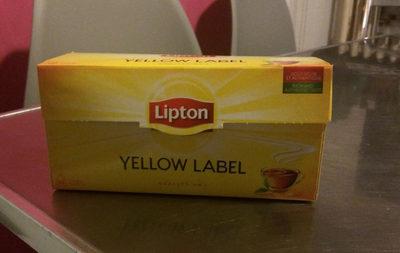 thé lipton yellow label - Product