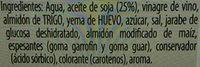 Salsa Bocabajo 225ML - Ingredientes - es