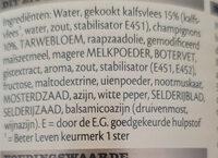 Kalfs Ragout - Ingrediënten - nl