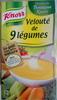 Velouté de 9 légumes - Produit