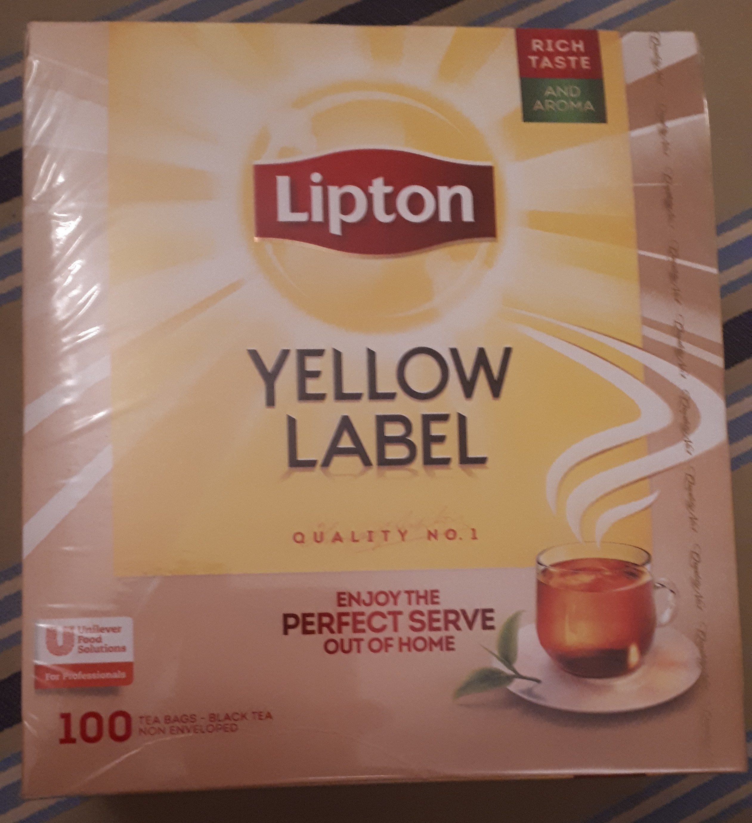 Lipton Yellow Label Tea - Product - en