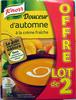 Douceur d'automne à la crème fraîche (lot de 2) Knorr - Produit