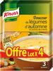 Knorr Douceur de légumes d'Automnes 83g lot de 4 - Product