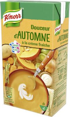 Knorr Les Classiques Soupe Liquide Douceur d'Automne à la Crème Fraîche Brique 50cl - Produit - fr