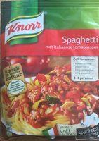 Spaghetti met Italiaanse tomatensaus - Product - nl