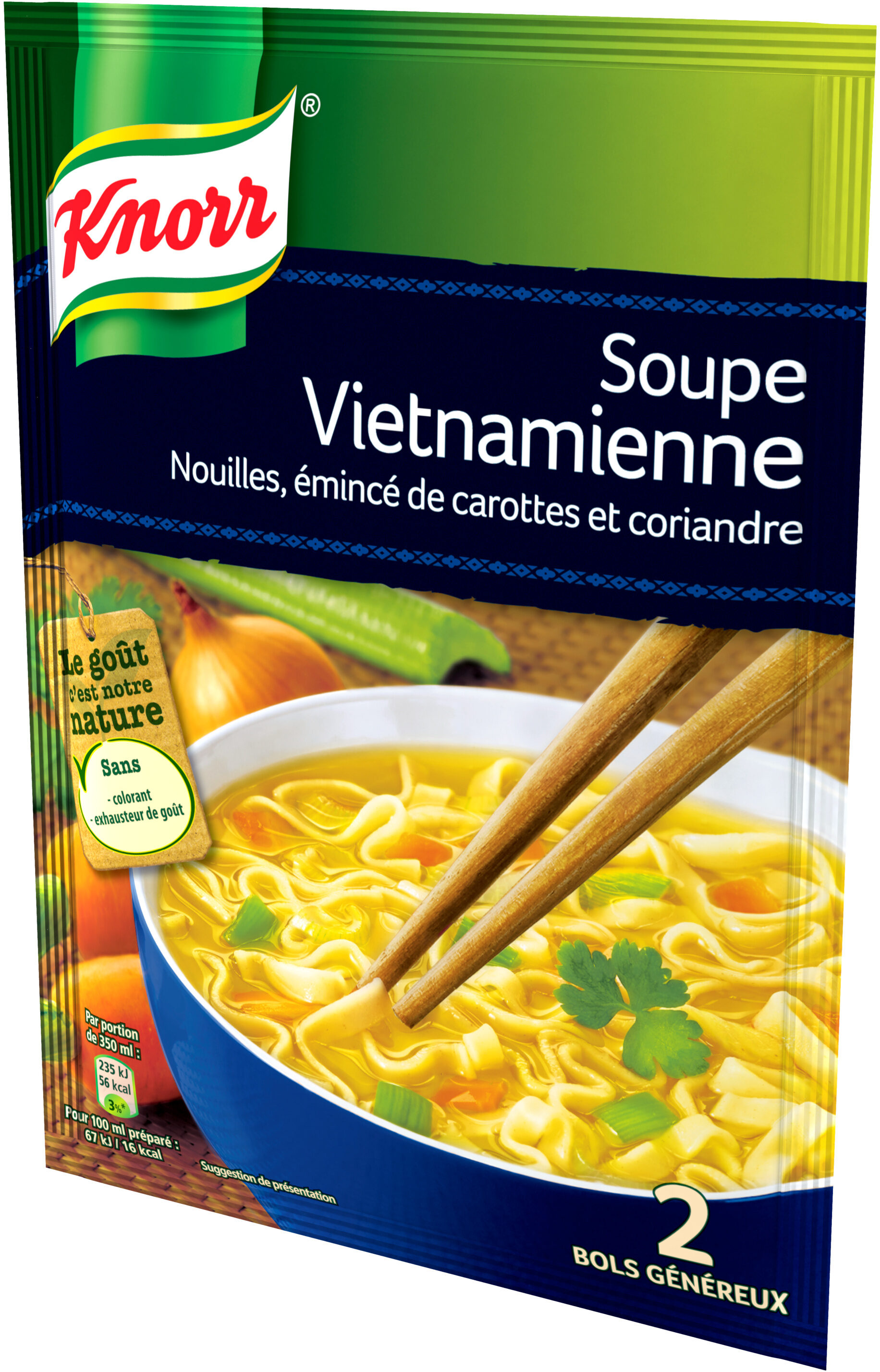 Knorr Soupe Vietnamienne 39g 2 Portions - Product - fr