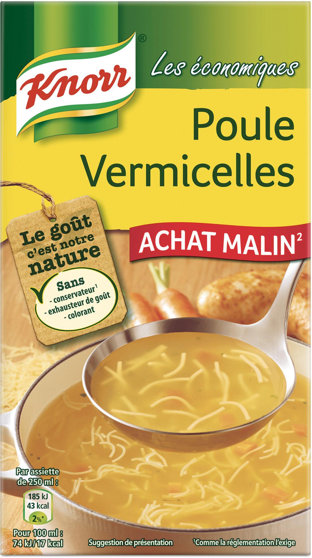 Knorr Soupe Liquide Poule Vermicelles - Product - fr