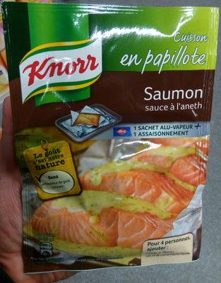 Cuisson en papillote Saumon sauce à l'Aneth - Product