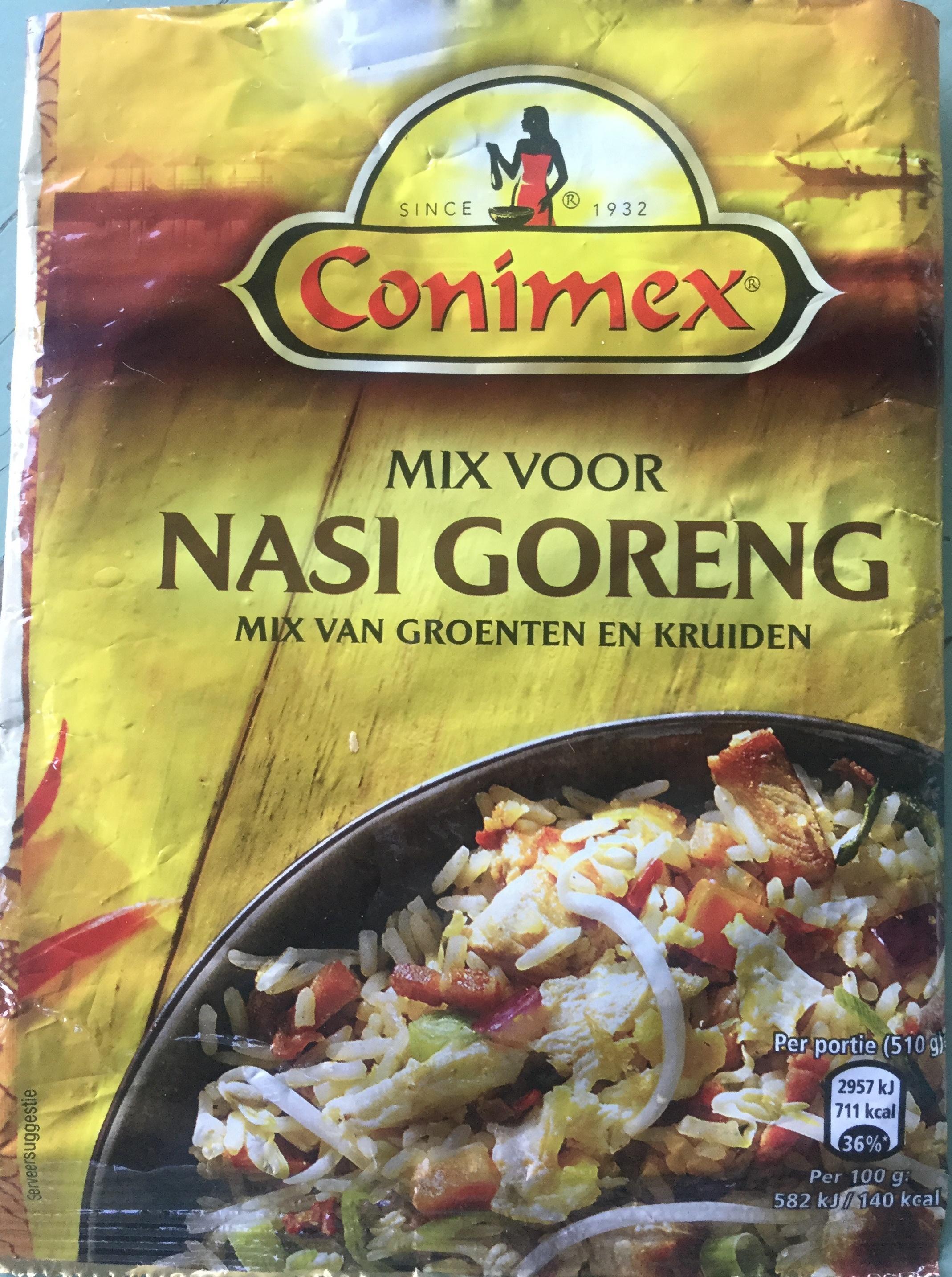 Mix voor Nasi Goreng - Product - nl