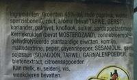 Mix voor Nasi Goreng - Ingrediënten - nl
