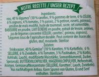 Cremesuppe mit 9 Gemüsen - Ingrediënten - fr