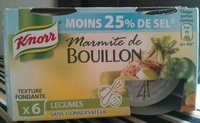 Marmite de Bouillon Légumes (Moins 25% de sel) - Product