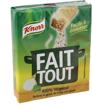 Knorr Bouillon Cube Fait Tout 100% Végétal x10 - Product - fr