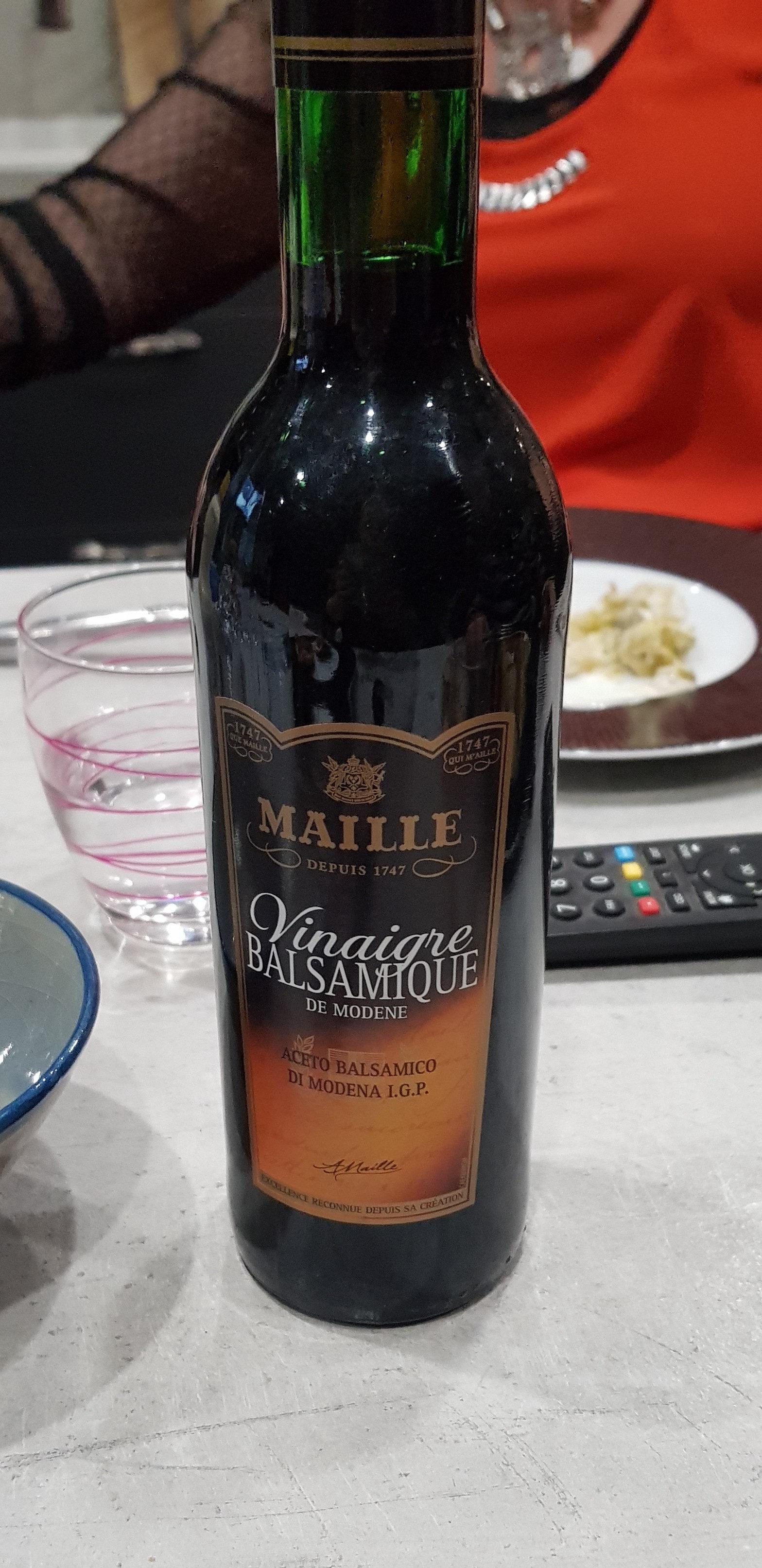 Maille Vinaigre Balsamique de Modène 50cl - Informations nutritionnelles - fr