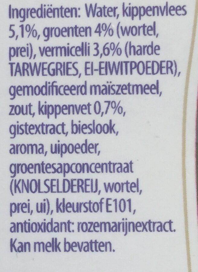 Heldere kip - Ingredients - nl
