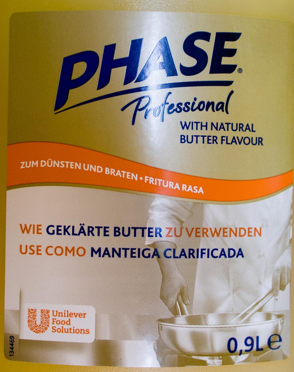 PHASE Professional with natural Butter Flavour - Produit - de