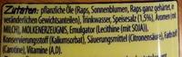 Rama Culinesse Buttergeschmack - Inhaltsstoffe