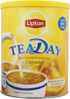 Lipton Tea Day Preparation Boisson Thé Et Lait Caramel 310g - Product
