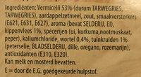 kippensoep - Ingrediënten - nl