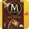 Magnum Glace Batonnet Miel Nougat 6x110ml - Produit