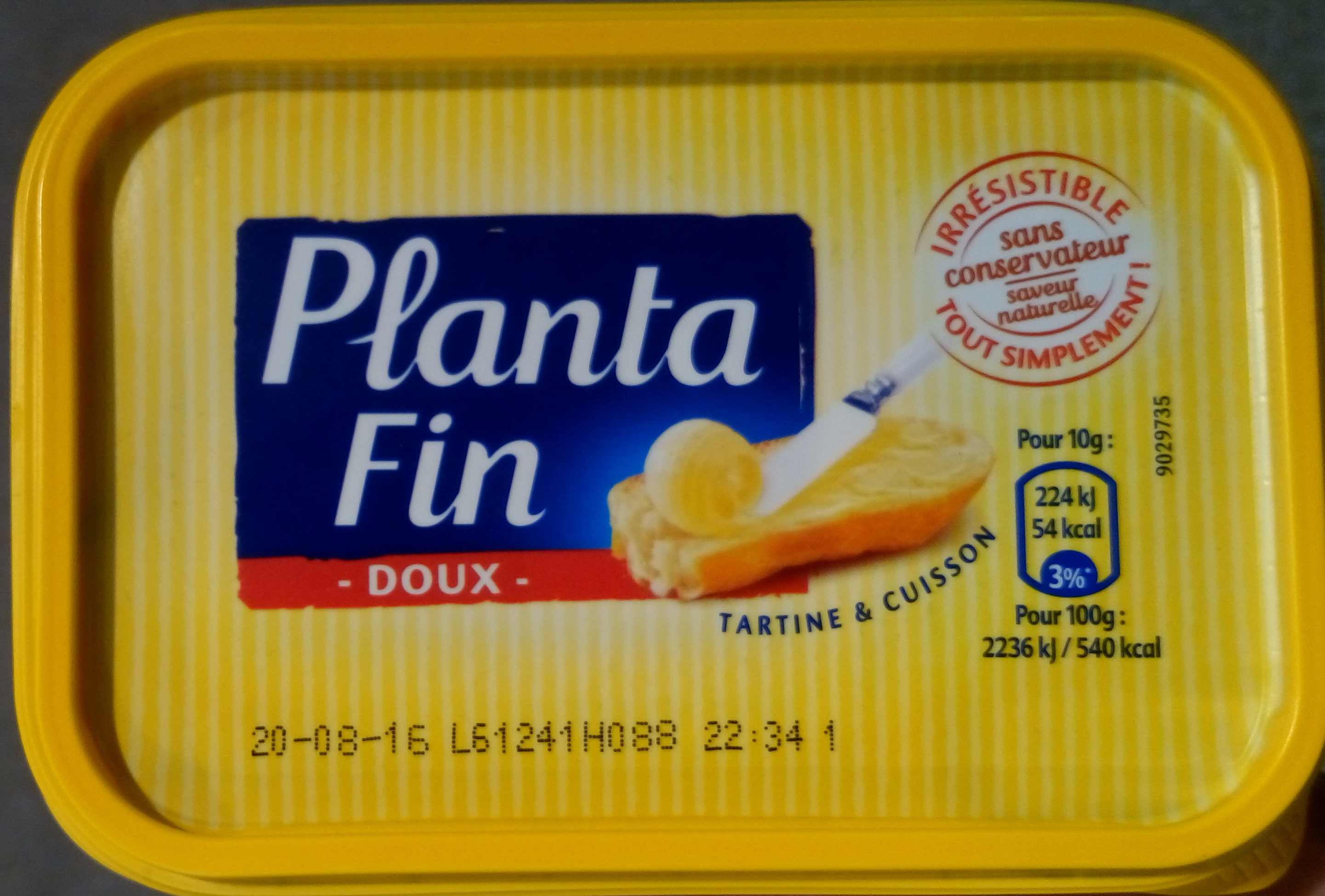 Planta Fin Doux - Produit