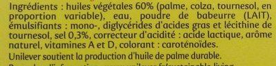 Planta Fin Doux - Ingrédients