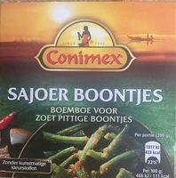 Sajoer boontjes - Product