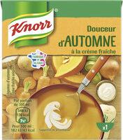 Knorr Soupe Douceur d'Automne à la Crème Fraîche - Produit - fr