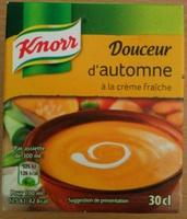 Douceur d'Automne à la Crème Fraîche - Produit