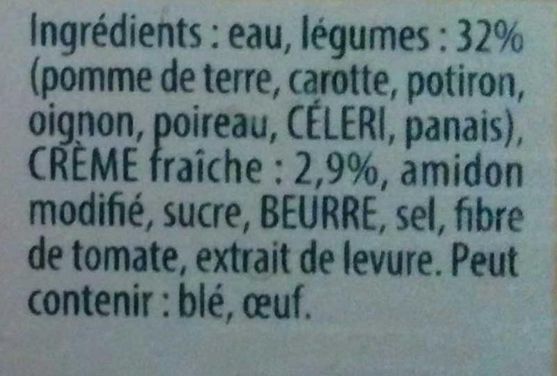 Douceur d'Automne à la Crème Fraîche - Ingrédients