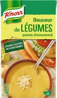 Knorr Soupe Liquide Douceur de Légumes Pointe d'Emmental Brique 4 Portions 1L - Product