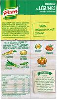 Knorr Soupe Liquide Douceur de Légumes Pointe d'Emmental Brique 4 Portions 1L - Ingrediënten