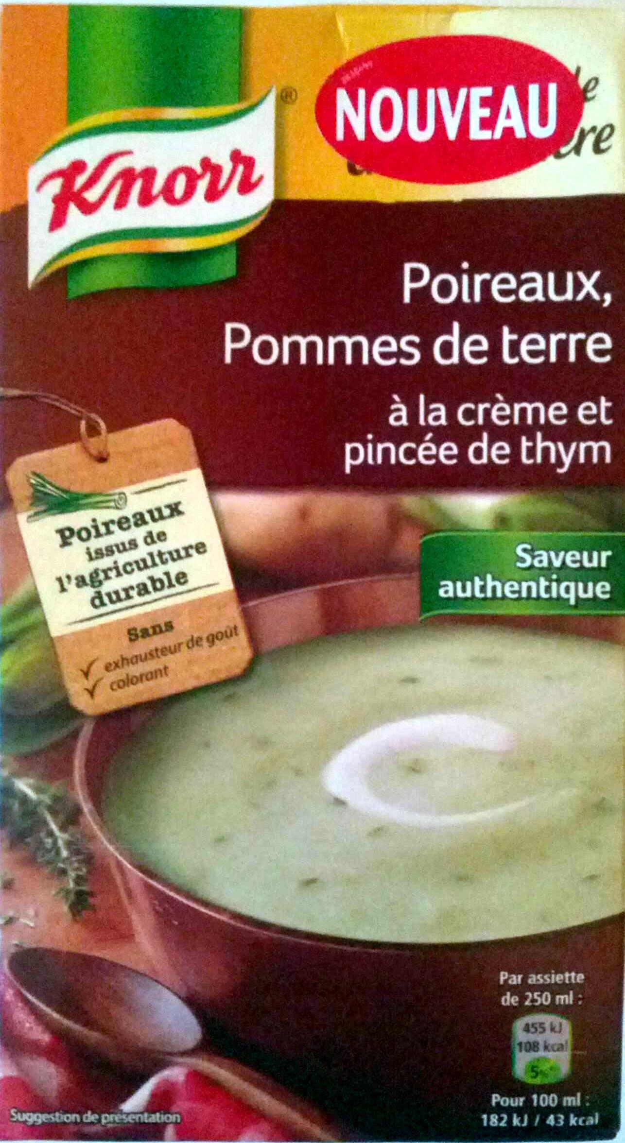 Secrets de Grand-Mère poireaux, pommes de terre - Product - fr