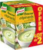 Knorr Douceur d'épinards à la crème, ail et fines herbes lot de 2 X 1L - Product