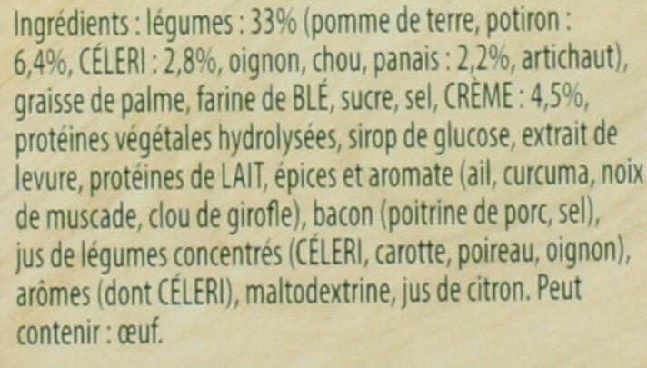 Knorr Soupe Douceur de Légumes d'Autrefois 89g 3 Portions - Ingrediënten - fr