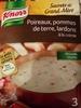 Soupe déshydratée de poireaux, pommes de terre, lardons à la crème - Produit