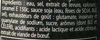 Viandox - Ingredients - fr