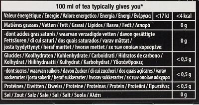 Lipton Thé Noir Rich Earl Grey 25 Sachets - Nutrition facts - fr
