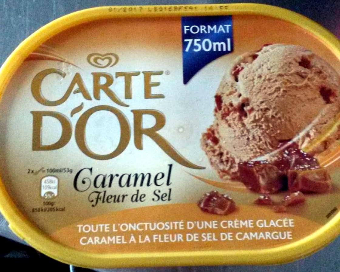 Caramel Fleur De Sel Carte Dor 750 Ml
