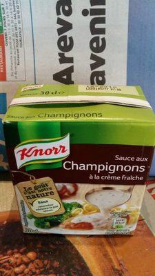 Knorr Sauce Champignons à la Crème Fraîche Brique - Product - fr