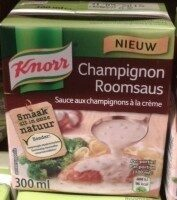 Knorr Champignonroomsaus - Product - nl