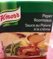 Knorr Peper Room Saus Sauce au poivre à la crème  300ML - Product - fr