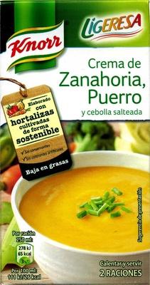 Puré de zanahoria y puerro - Producto - es