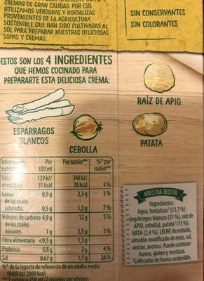 Crema Líquida D'espã Rrecs 500 ML - Ingrédients - fr