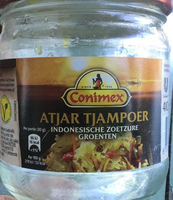 Atjar Tjampoer - Product