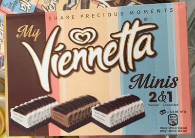 My Viennetta Minis 2 Vanilla & 1 Chocolate - Produit