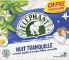 Elephant Infusion Nuit Tranquille 50 Sachets - Produit