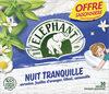 Elephant Tisane Nuit Tranquille Offre Saisonnière 50 Sachets - Product