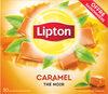 Lipton Thé Noir Caramel Offre Saisonnière 50 Sachets - Product